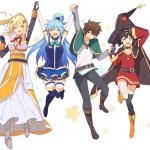 この素晴らしい世界に祝福をアニメ2期の放送はいつからか予想!