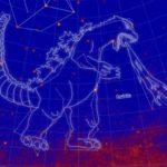 ゴジラ座の星座の方角や位置は?選定理由はNASAの趣味なの?